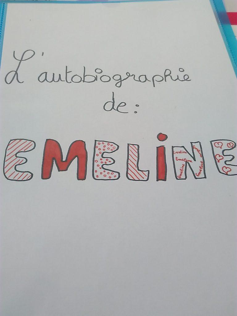 Lettre Pour Mon Avenir Projet Autobiographique